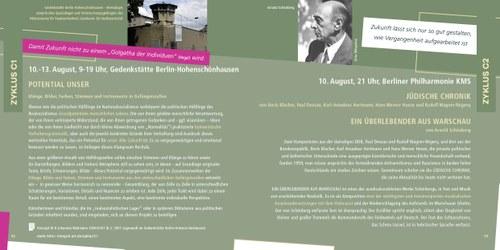 """Seite 52/53 aus dem Katalog der INTEGRAL-ART FESTSPIELE """"Wallmann statt Wagner"""""""