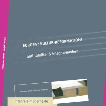 Rückseite des Kataloges der INTEGRAL-ART FESTSPIELE