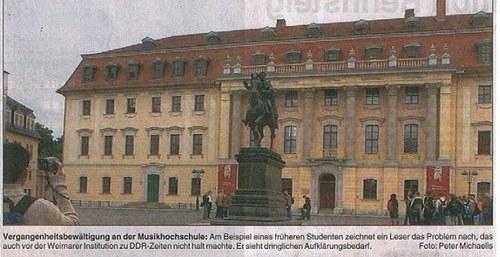 Foto zum Artikel von Günter Knoblauch in Thüringer Landeszeitung vom 28.6. 2012