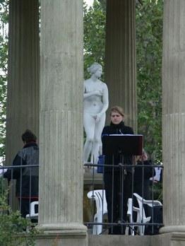 DER BLAUE KLANG - Sopranistinnen im Venustempel