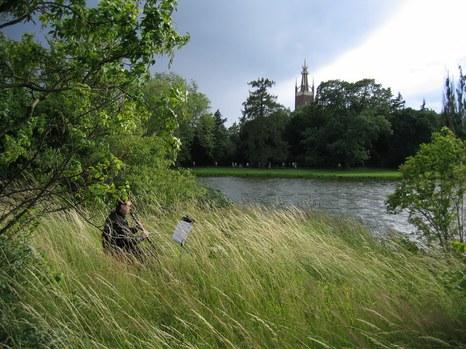 DER BLAUE KLANG - Klarinette 4 - im tiefen Gras