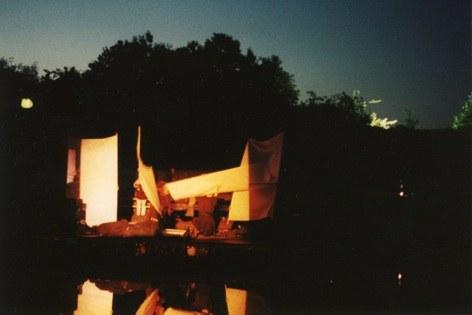 KLANGZEIT-Performance, UNI-Terrassen Wuppertal, 1992