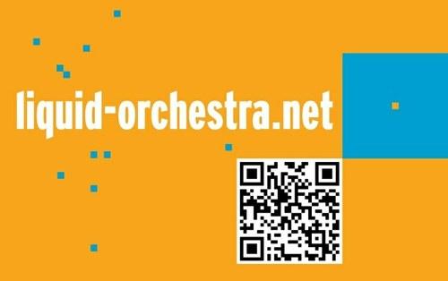 Flyer Liquid Orchestra zum Konzert am 3. Oktober 2012